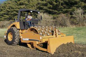 Paducah Case SV212 Soil Rollers KY Equipment Rentals in KY