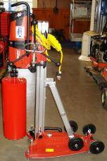 Large Core Drill with Stand