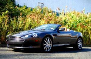 Florida Exotic Car Rental -  Aston Martin DB9 For Rent