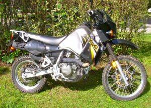 KLR 650 Dual sport Motorcycle Rentals in Townsend, Tennessee