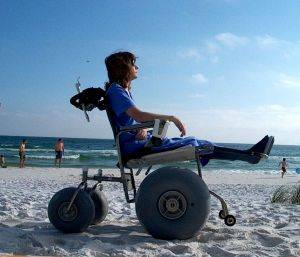De Bug Beach Wheelchairs available in Daytona Beach