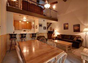 Condo Rentals Dining Room With Loft in Lake Tahoe