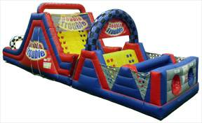 Image of Giant Obstacle Course Inflatable