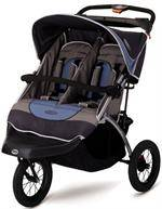 Double Jogging Stroller With Reclining Seats