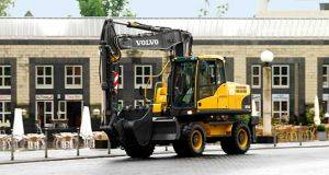 Wheel Excavator Rental in Williamsburg, Virginia