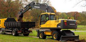 Wheel Excavator Rentals in Columbus, OH