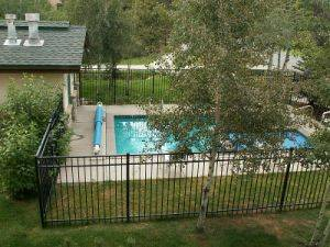 Evergreens townhome - pool view