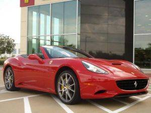Luxury Ferrari Convertible Rental