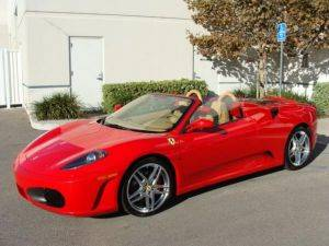 Ferrari Convertible F430 Spider Rental