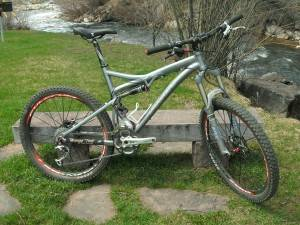 Steamboat Springs Bicycle Rentals-Pivot Mach5 Medium Bike For Rent