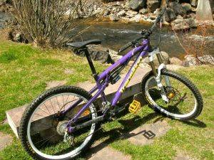 Steamboat Springs Bicycle Rentals-Transition Bottlerocket Large Bike For Rent