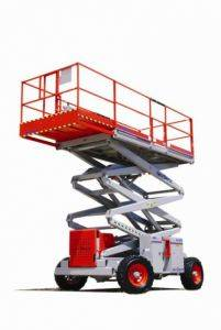 Gas Scissor Lifts for Rent-Florida