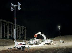 Perris Towable Light Tower Rental-California