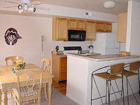 Golf Course Condo Fully Equipped Kitchen