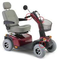 Mobility Scooter Hire on Hls Healthcare Jasper Indiana Rental Store   Rent It Today
