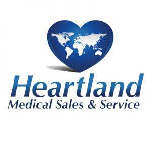 Heartland Medical Sales and Service Logo