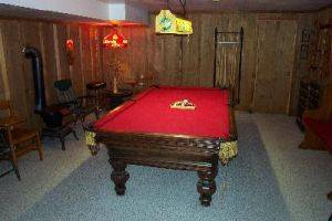 Herbage C-4 Game Room with Pool Table