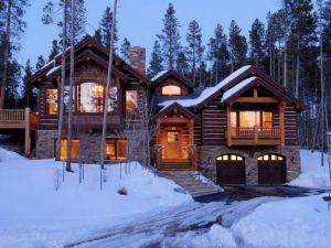 Breckenridge Vacation Rentals Rustic Timber Lodge For Rent