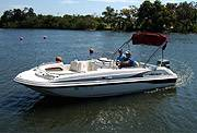 21' Hurricane Boat Rental Florida