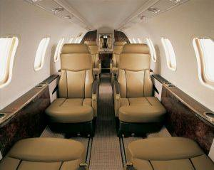 Stratos Lear Jet 45 Seating