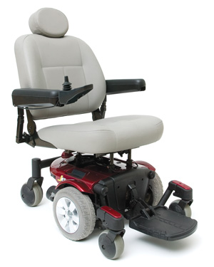 Red and Grey Mobility Scooter