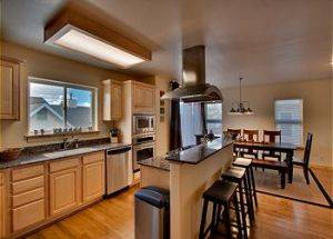Town Home Rental Modern Kitchen in Lake Tahoe