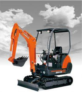 Murray Kubota KX41 Mini Excavator Rentals in Kentucky