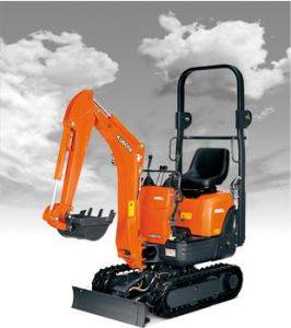 Murray Kubota KX008 Mini Excavator Rentals in Kentucky
