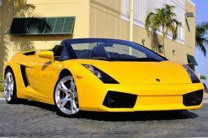 Los Angeles Gallardo Spider Lamborghini For Rent