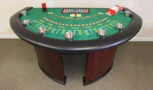 Indianapolis Let It Ride Poker Table Rentals in Indiana