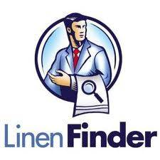 logo for linen finder