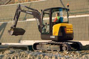 Asheville Compact Excavator Rental