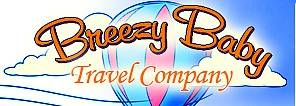 Logo for Breezy Baby Travel Company Wilmington, NC