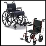 Manual Light or Ultra Light Weight Wheelchairs