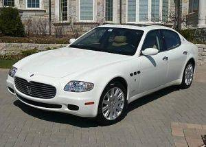 Los Angeles Quattroporte Maserati For Rent