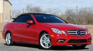 New Jersey Mercedes-Benz E550 Cabriolet  Rental-Luxury Exotic For Rent