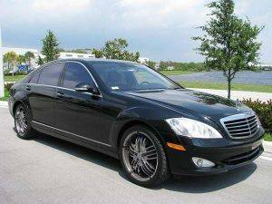 Los Angeles S550 Mercedes-Benz For Rent -Side View
