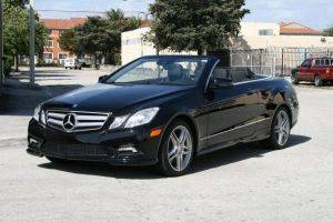 Los Angeles E550 Cabriolet Mercedes For Rent