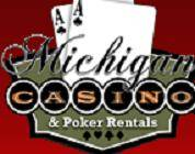 Logo For Michigan Casino and Poker Rentals