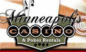 Logo For Minneapolis Casino and Poker Rentals