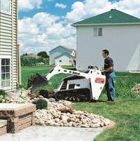 Bobcat Mini Track Loader Rental