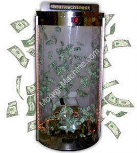 Inflatable Money Cash Cube Rental