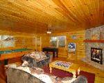 Moose Lodge family room