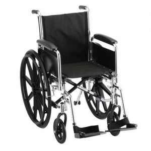 16 inch steel wheelchair by Nova