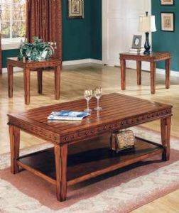 Southwest 3pc Occasional table set for rent
