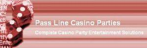 Pass Line Casino Parties Logo
