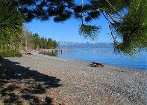 Patton Beach Carnelian Bay Lake Tahoe