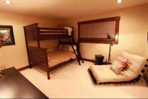 Bedroom with Bunk Beds Pine Glade