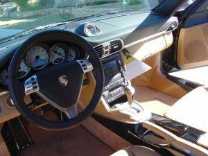 Los Angeles Turbo 911 Porsche For Rent -Dashboard