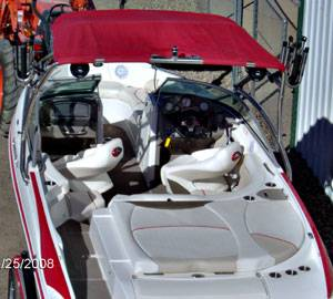 Lake Powell Boats for rent.  Rinker ski boat
